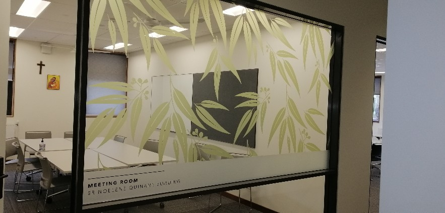 Window Graphics and Frosting